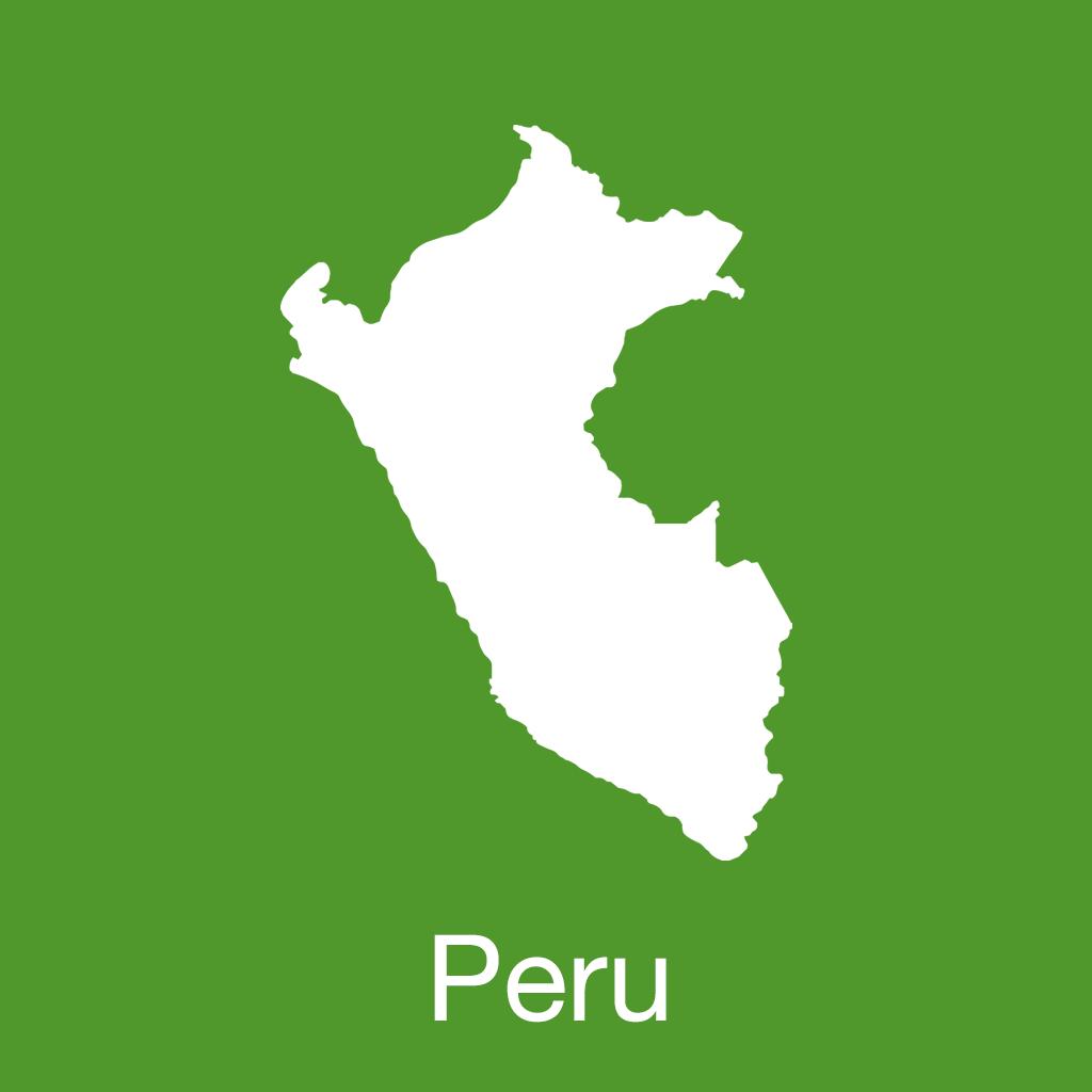 cuzco travel map (peru)图片